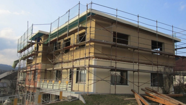 Haussanierung Umbau